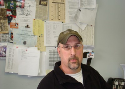 Mike Lukens - Scheduling & Shipping Manager