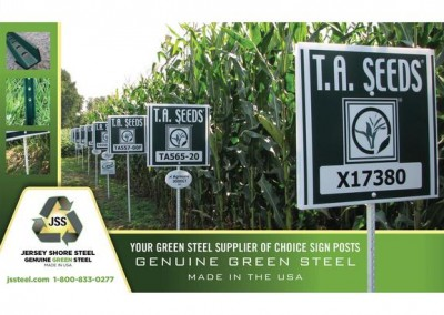 Sign posts used in the agricultural industry
